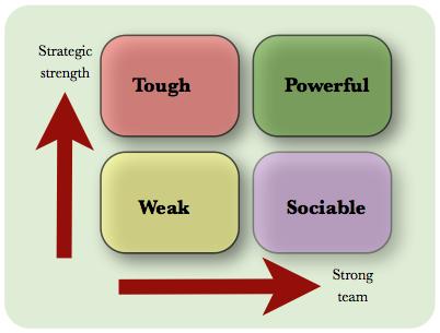business team development model